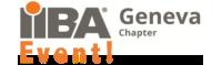 Logo Congrès de business analyse 2020 organisé par IIBA Geneva Chapter